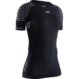 X-Bionic Invent LT T-shirt Ronde Kraag Dames, black melange